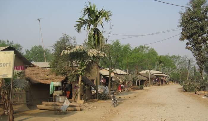 Home stay at Tharu village in Chitwan