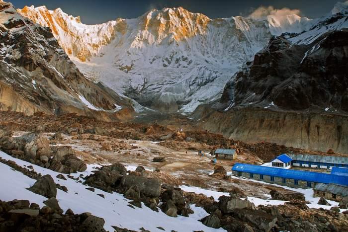 Annapurna IV (7525m) climb – 30 days