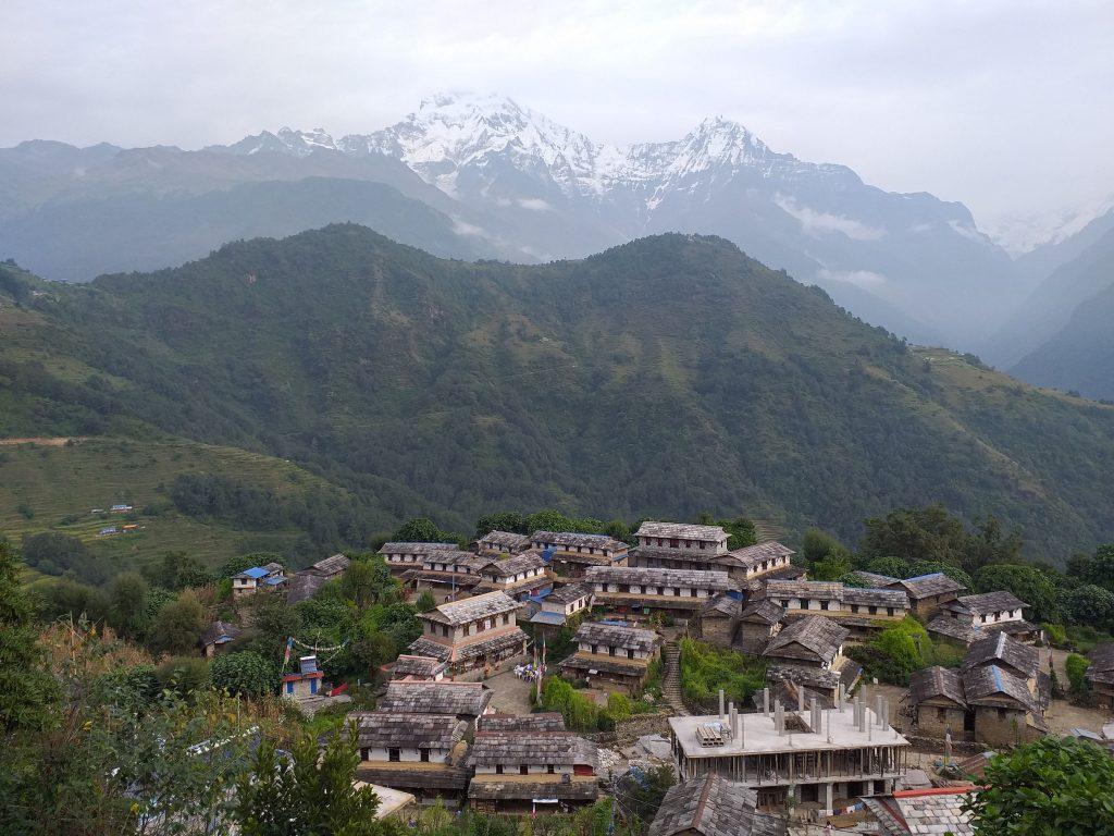 Ghanruk village