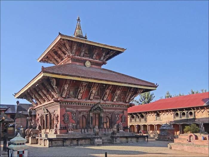 Le temple de Changu Narayan (Bhaktapur)