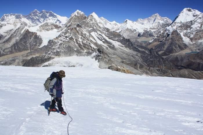 Mera peak (6476m) and Amphu Laptsa Pass- 24 days
