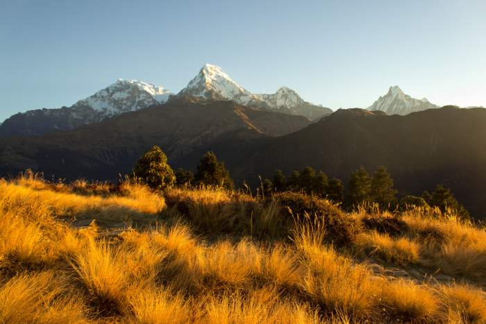 Sunrise on Poon Hill, Annapurna Base Camp Trek, Nepal