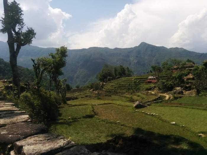 Trekking from Pokhara to Panchase