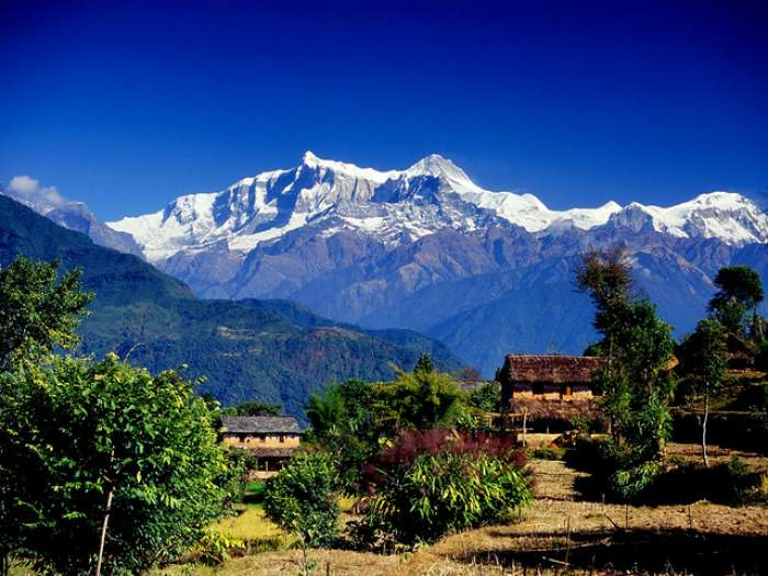 Village in Annapurna Range