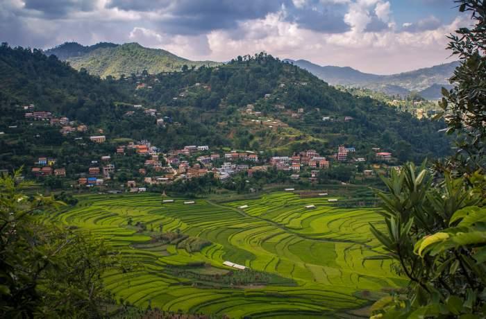 Beautiful Balthali Village