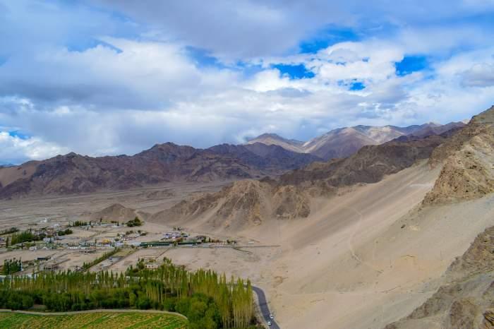 leh, ladakh, mountains, kashmir, india