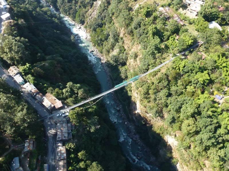 Bungy Jump in Nepal – Bhotekoshi