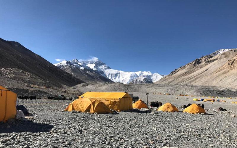 Lhakpa Ri Climb (7045m)-23 days