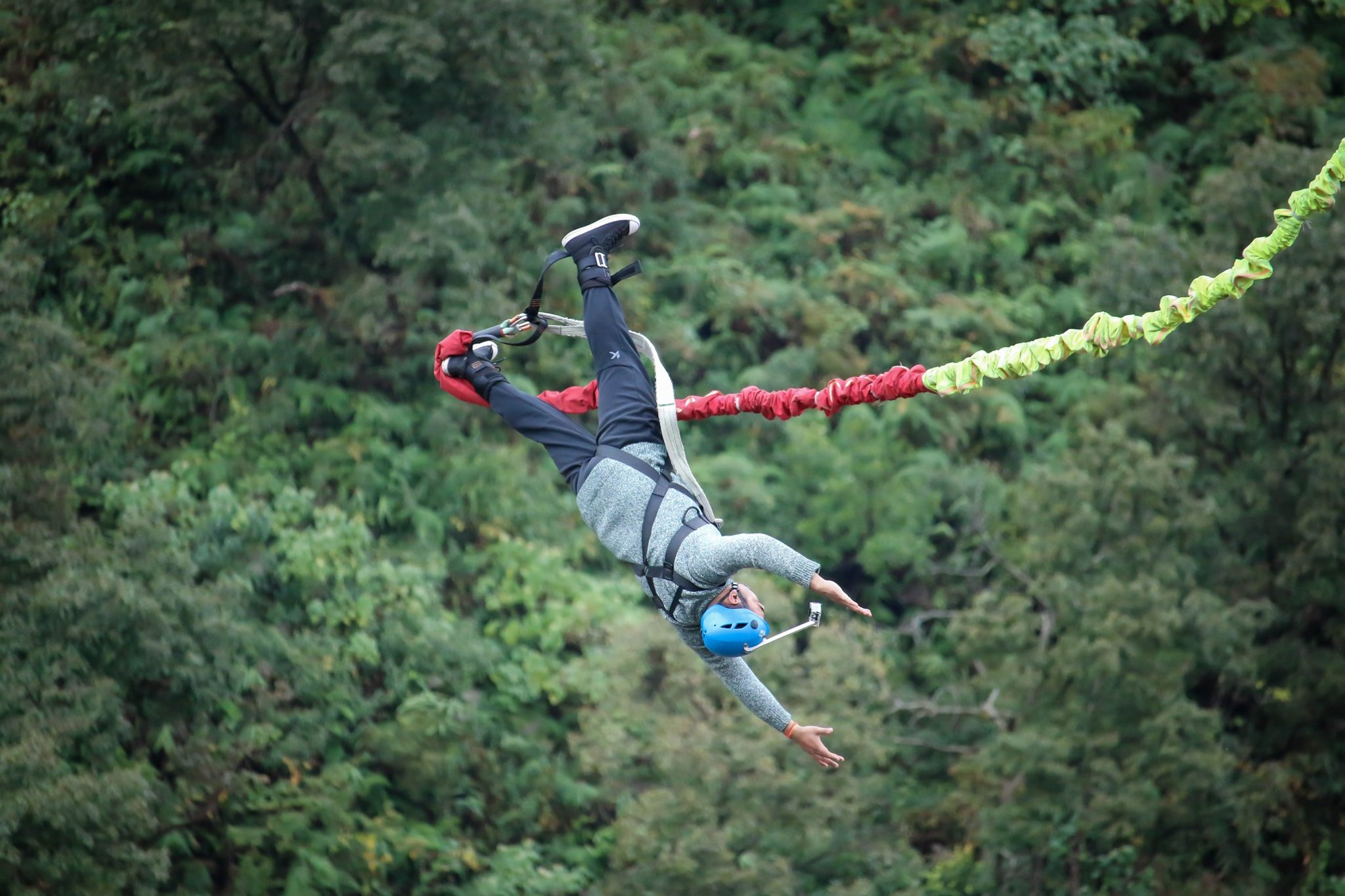 Bungy Jump in Nepal -Pokhara